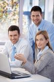 Portrait of happy businessteam Royalty Free Stock Images