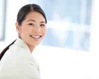 Portrait of a happy businesswoman Stock Photo