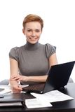 Portrait of happy businesswoman Royalty Free Stock Photography