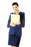 Portrait of happy businesswoman Royalty Free Stock Photo