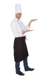 Portrait of happy chef Royalty Free Stock Photo