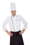 Portrait of happy chef Stock Photography