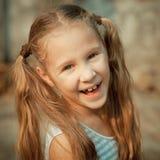 Portrait of happy child royalty free stock photo