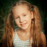 Portrait of happy child royalty free stock photography