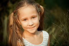 Portrait of happy child stock photography