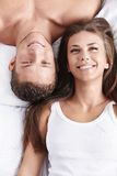 Portrait of a happy couple Royalty Free Stock Image