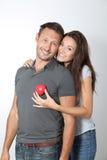 Portrait of happy couple Royalty Free Stock Photo