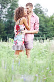 Portrait of happy couple Royalty Free Stock Image