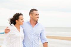 Portrait of a happy couple Stock Images