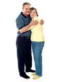 Portrait of happy couple hugging Royalty Free Stock Image