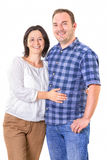 Portrait of happy couple Royalty Free Stock Images