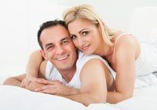 Portrait Of Happy Couple Stock Photo