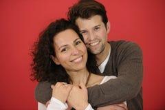 Portrait of an happy couple stock image