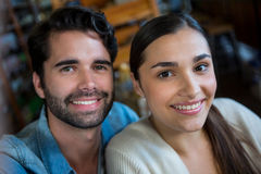 Portrait of happy couple Royalty Free Stock Photos