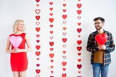 Couple on valentine day Stock Photo
