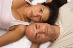 Portrait happy couple. Stock Images