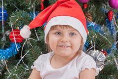 Portrait of happy cute little girl Royalty Free Stock Photography