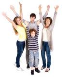 Portrait of happy family Stock Photography