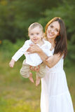 Portrait of a happy family Royalty Free Stock Photo