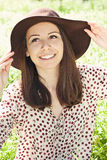 Portrait of happy girl Stock Photography