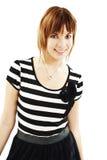 Portrait of happy girl teenager Stock Images