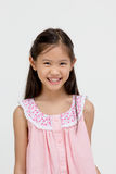 Portrait of happy little Asian child Royalty Free Stock Images