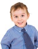 Portrait of a happy little boy Royalty Free Stock Image