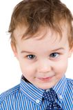 Portrait of a happy little boy Royalty Free Stock Images