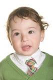 Portrait of a happy little boy. Royalty Free Stock Photo