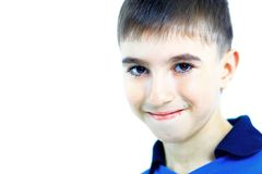 Portrait of happy little boy Royalty Free Stock Images