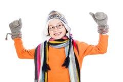 Portrait of happy little boy Stock Photos