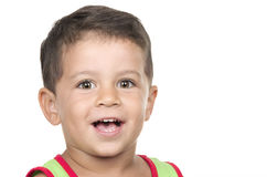 Portrait of happy little boy Royalty Free Stock Photo