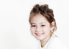 Portrait happy little girl Royalty Free Stock Photos