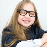 Portrait of a little girl. Portrait of a happy little girl Royalty Free Stock Photos