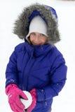 Portrait of happy little girl. Stock Images