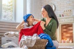 Portrait of happy loving family royalty free stock photo