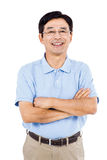Portrait of happy man with arms crossed Royalty Free Stock Images