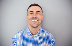 Portrait of a happy man looking at camera Stock Photo