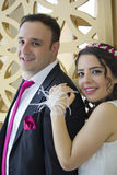 Portrait of happy  married couple Stock Image