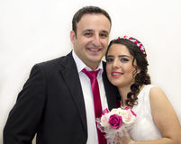 Portrait of happy  married couple Royalty Free Stock Images