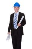 Portrait Of Happy Mature Architect Stock Photos