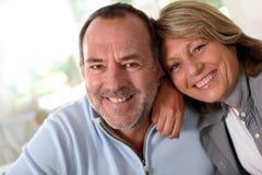 Portrait of happy mature couple in love Stock Photo