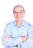 Portrait of happy mature man Stock Image