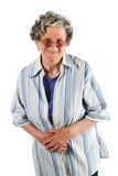 Portrait of a happy mature senior woman Royalty Free Stock Image