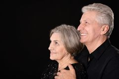 Portrait of a happy middle-aged couple Royalty Free Stock Image
