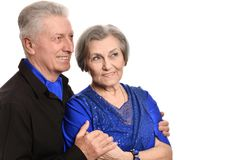 Portrait of a happy middle-aged couple Royalty Free Stock Photography
