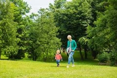 Portrait of happy mother and baby playing Royalty Free Stock Images