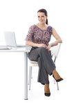 Portrait of happy office assistant Royalty Free Stock Photo