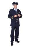 Portrait Of Happy Pilot Royalty Free Stock Photos