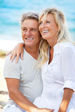 Portrait of a happy romantic couple Royalty Free Stock Image